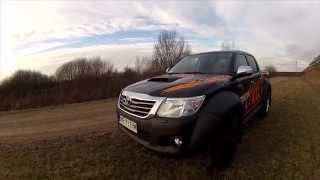 getlinkyoutube.com-Toyota Hilux Arctic Truck 3.0 D-4D - pierwsza jazda - test [PL]