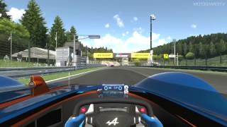 getlinkyoutube.com-Gran Turismo 6 - Alpine Vision GT/Race Mode Gameplay