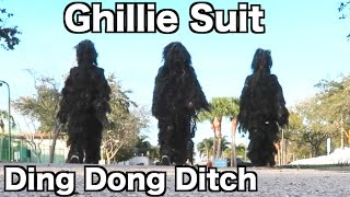 getlinkyoutube.com-GHILLIE SUIT DING DONG DITCHING FANS!!