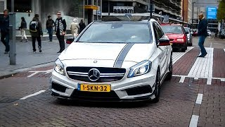 getlinkyoutube.com-Mercedes-Benz A45 AMG Edition One - Revs & Accelerations!