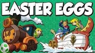 Easter Eggs in Phantom Hourglass & Easter Eggs in Spirit Tracks - The Legend of Zelda Easter Eggs