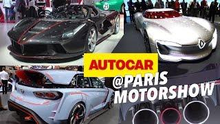 getlinkyoutube.com-Paris Motor Show 2016 - The 14 cars you need to see | Autocar