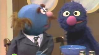 getlinkyoutube.com-Sesame Street - Mr. Johnson finds out why Grover's not looking in the soup bowl