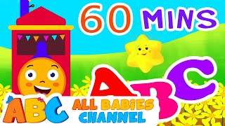 getlinkyoutube.com-ABC Train Song | ABC Songs for Children & Nursery Rhymes | All Babies Channel