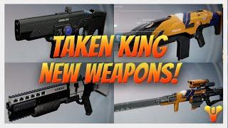getlinkyoutube.com-Destiny - The Taken King NEW WEAPONS! Häkke, Omolon, Suros and more! Taken King Gameplay