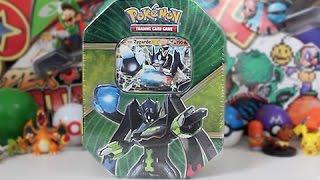 Opening A Pokemon Zygarde EX Tin!!