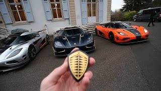 Somehow I found myself in a Koenigsegg Agera RS
