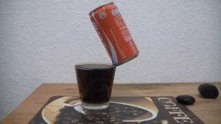 getlinkyoutube.com-Coke Can balancing on edge of a glass WOW