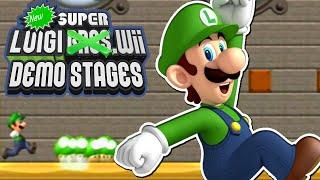"getlinkyoutube.com-New Super Luigi Wii - ""DEMO!"" (New Super Mario Bros Wii Hack)"
