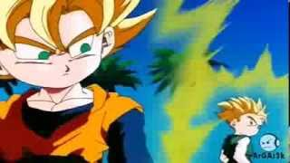 getlinkyoutube.com-Goten y Trunks Se Fusionan En Super Saiyajin (Español Latino)