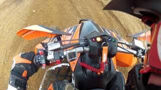getlinkyoutube.com-KTM 525 XC Hill climb fail