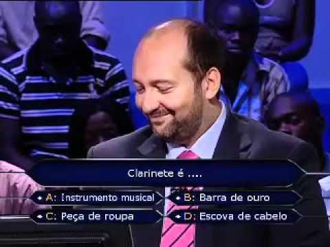 Quem quer ser milionário Clarinete