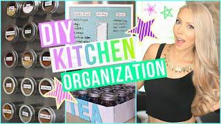 getlinkyoutube.com-DIY Kitchen Organization Ideas!