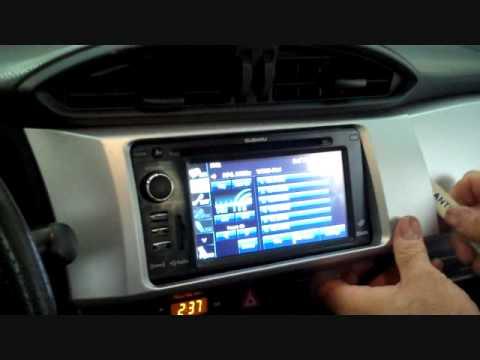 Subaru BRZ Car Stereo Removal