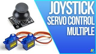 Arduino Tutorial 28: Servo Control with Joystick