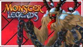 getlinkyoutube.com-Monster Legends - LEGENDARY MONSTER LEVEL UP! - Part 2 (First Dungeon Battle!)