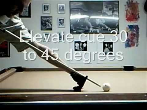 How To Masse The Cue Ball
