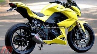 getlinkyoutube.com-Kawasaki Z250 Custom Yellow