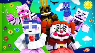 getlinkyoutube.com-FNAF Sister Location - Night 1 (Minecraft Roleplay)