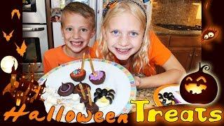 getlinkyoutube.com-Halloween Treats for Kids!