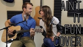 getlinkyoutube.com-Ain't it Fun - Paramore - One-Take Cover by Kenzie Nimmo