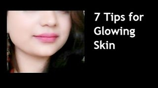 getlinkyoutube.com-7 Tips for Glowing Face Naturally