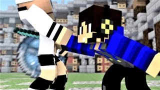 """getlinkyoutube.com-Minecraft Song and Minecraft Animation """"We Be Teaming"""" Castle Raid 2 - Top Minecraft Songs"""