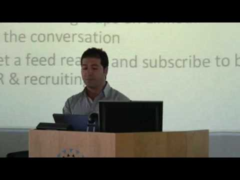 Riges Younan at RecruitTECH 2009 - Part 2 of 2 - Australian Recruitment and Technology Conference