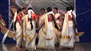 getlinkyoutube.com-Onam Tiruvathira 2013 Gwalior