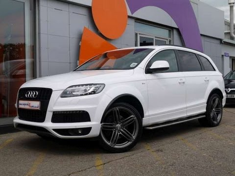 2011 Audi Q7 S-Line 3.0TDI 245 Clean Diesel White For Sale In ...