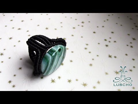 How to Make a Macrame Ring - Macramé Tutorial [DIY]