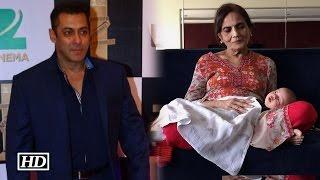 Salman shares photograph of 'nanha Ahil