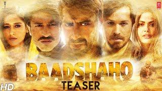 Baadshaho Official Teaser |  Ajay Devgn, Emraan Hashmi, Esha Gupta, Ileana D'Cruz & Vidyut Jammwal