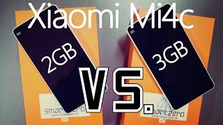 getlinkyoutube.com-Xiaomi Mi4c 2GB RAM vs. Xiaomi Mi4c 3GB RAM - AnTuTu Benchmark, Geekbench, Quadrant