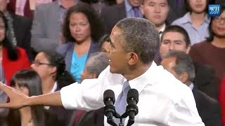 getlinkyoutube.com-Obama Interrupted By Immigration Activist During Speech