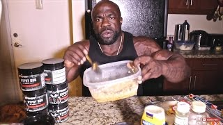 getlinkyoutube.com-1200 Calorie Quick Meal {HYPHY QUICKY): COOKING  w/ Kali Muscle