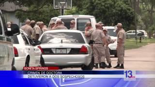 Detuvieron a dos sospechosos del crimen de Teresa Sievers