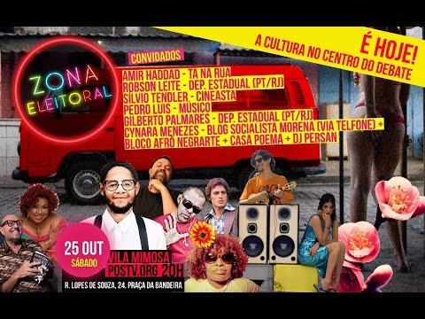 #ZONAELEITORAL na Vila Mimosa - Cultura no Centro do Debate