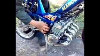 getlinkyoutube.com-Mobilete with four engines (4cc)