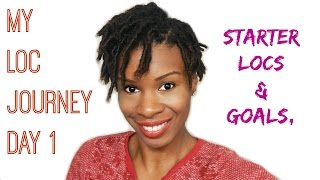 getlinkyoutube.com-My Starter Loc Journey - (Comb Coils) Natural Hair Update Day 1 ( Baby Locs, Dreads, Dreadlocks)