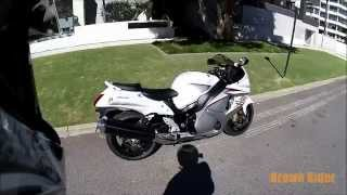 getlinkyoutube.com-2015 Suzuki Hayabusa GSX1300R Review and Test Ride by Brown Rider