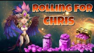 getlinkyoutube.com-Castle Clash Rolling for Chris!