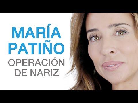 Operación de nariz | Rinoplastia de María Patiño