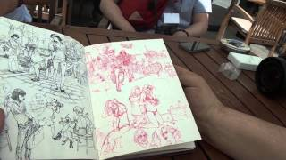 "getlinkyoutube.com-KimJung Gi - through the ""looking sketchbook #2"""