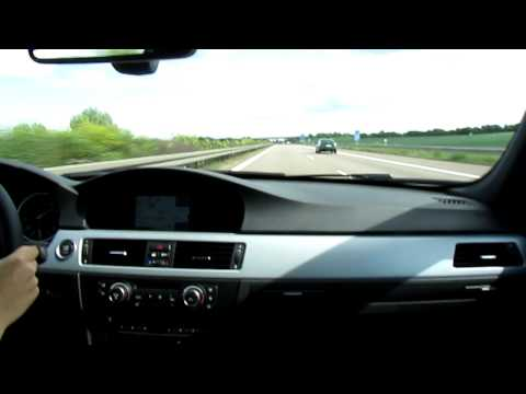 2011 BMW 335i @ Vmax on German Autobahn