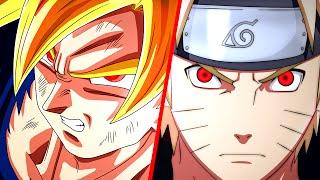 getlinkyoutube.com-Goku VS. Naruto | Duelo de Titãs