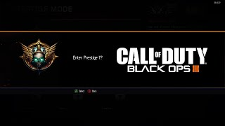 getlinkyoutube.com-Black ops 3 - PRESTIGE MODE! | What do you lose/keep? - BO3 Prestiging