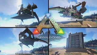 getlinkyoutube.com-Top 4 Quetzal Platforms - Ark Survival Evolved
