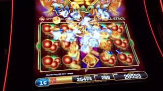 getlinkyoutube.com-FULL SCREEN Huge Win Fu Dao Le Slot Machine Good Symbols