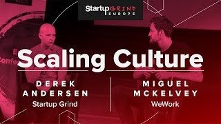 Scaling Start-up Culture